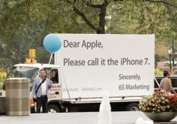 Clever marketing firm uses Apple iPhone hype to its advantage