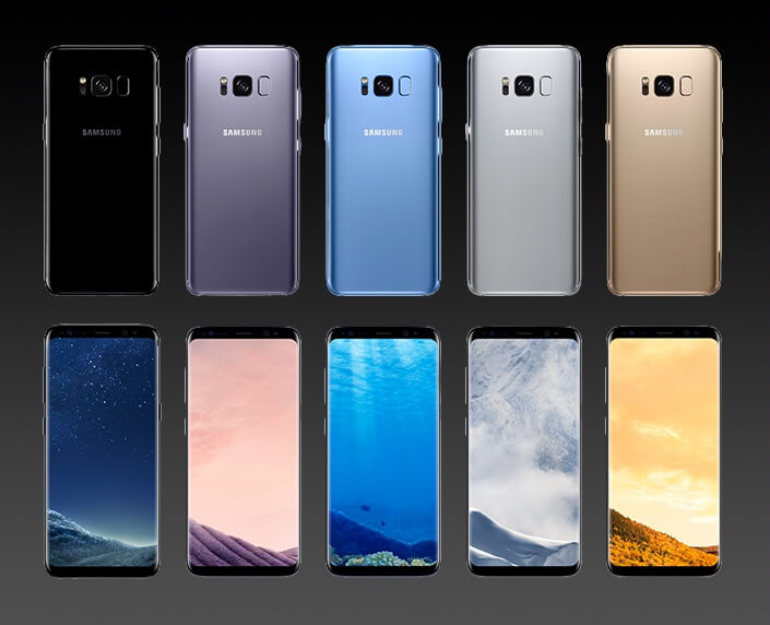 samsung adds coral blue galaxy s8 to its lineup. Black Bedroom Furniture Sets. Home Design Ideas