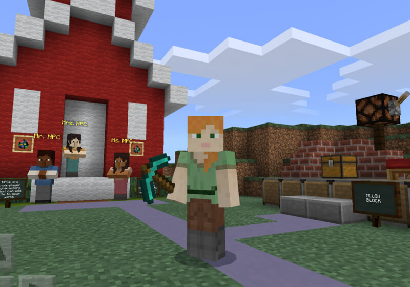 6d154defa5be Minecraft  Education Edition is coming to the iPad next month