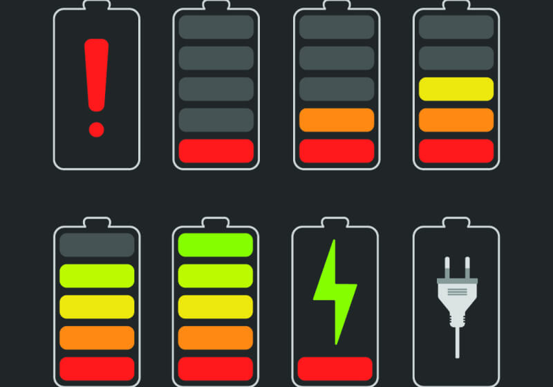 Smartphone battery life isn't keeping pace with hardware innovation